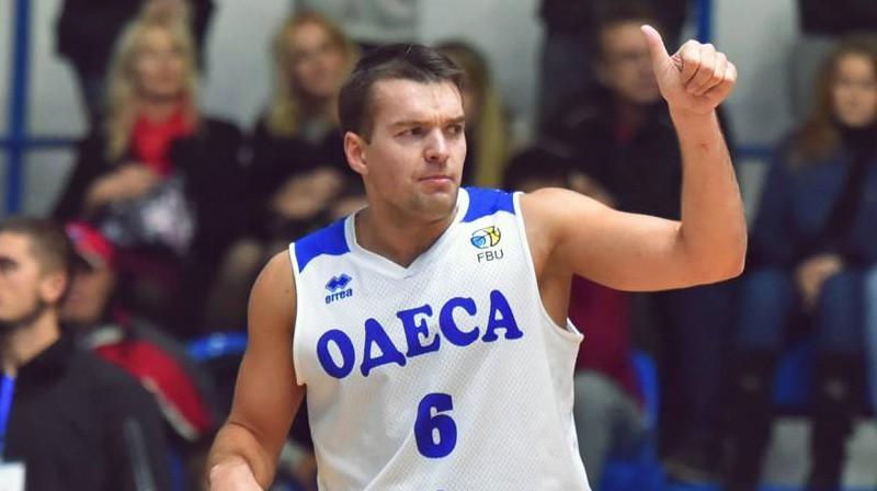 Mārcis Vītols. Foto: bcdynamo.odessa.ua