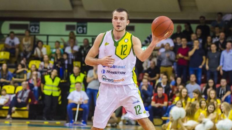 Dāvis Lejasmeiers. Foto: SportoweFakty / Karol Słomka