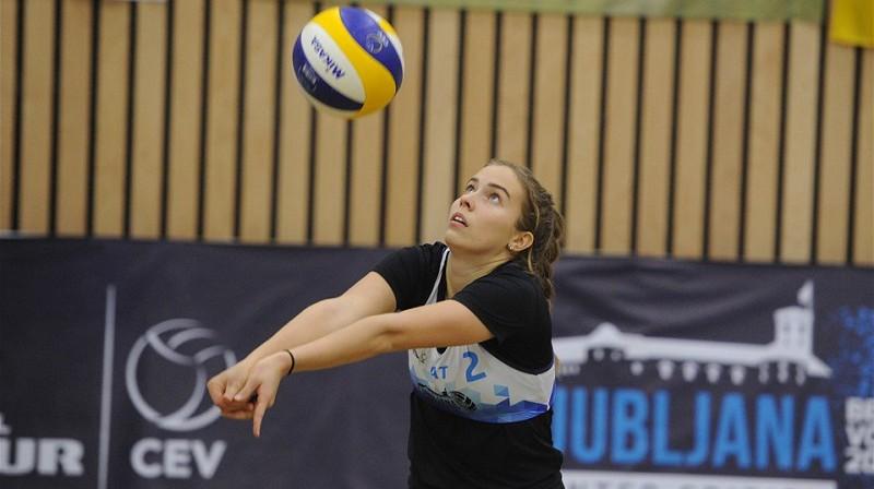 Anete Namiķe. Foto: FIVB