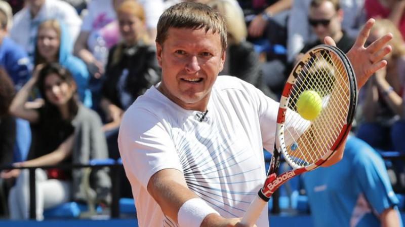 Jevgeņijs Kafeļņikovs paraugspēlē 2014. gadā. Foto: ITAR-TASS/Scanpix