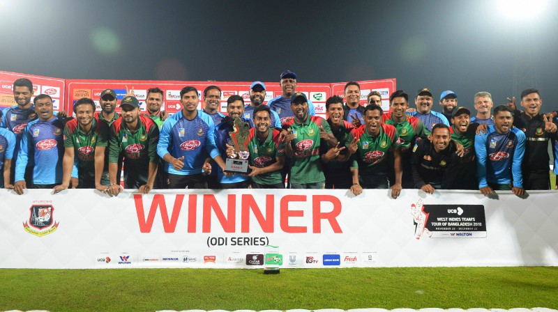 Bangladešas kriketa izlase Foto: AFP/Scanpix