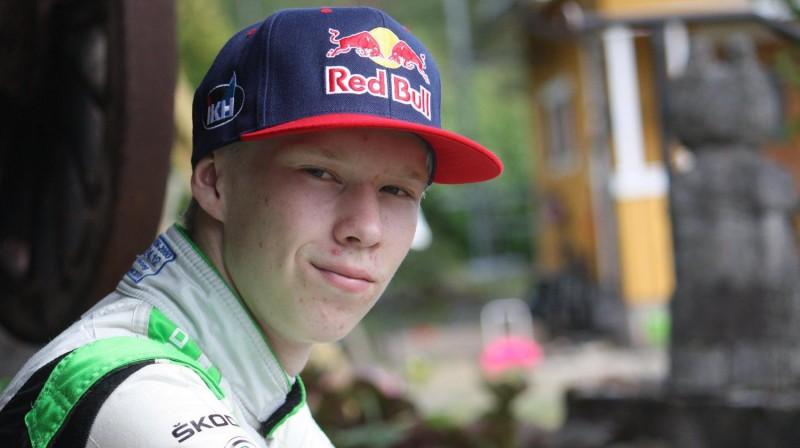 Kalle Rovanpera. Foto: Red Bull