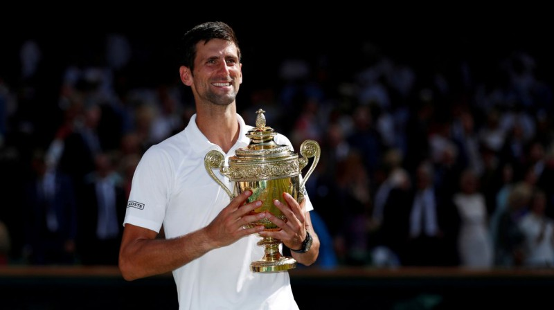 Novaks Džokovičs. Foto: Reuters / Scanpix