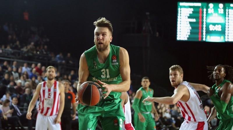 Žanis Peiners. Foto: Euroleague