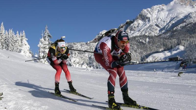 Juhanness Tinness Bē un Andrejs Rastorgujevs. Foto: EPA/Scanpix