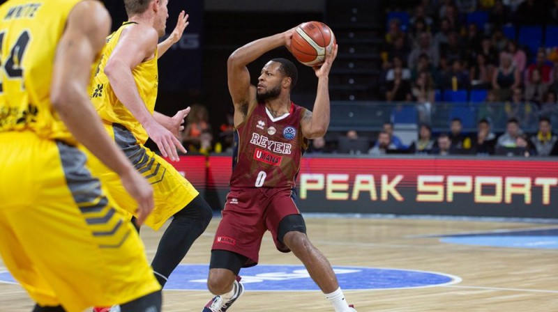 """Umana Reyer"" basketbolists Markess Heinss. Foto: FIBA"