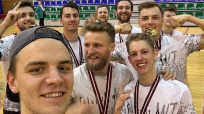 """Salaspils vīriešu komanda """"Wild Things"""". Foto: frisbee.lv"""