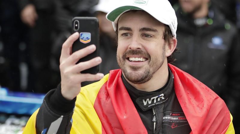 Fernando Alonso. Foto: AP/Scanpix