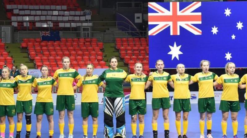 Austrālija savā reģionā atkal nepārspēta Foto: IFF Floorball