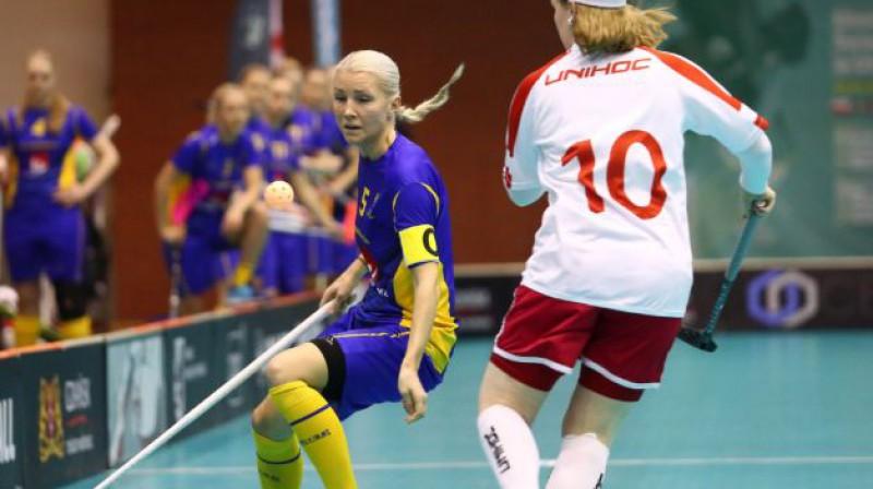 Zviedrijas izlase kvalificējusies pasaules čempionātam Foto: IFF Floorball