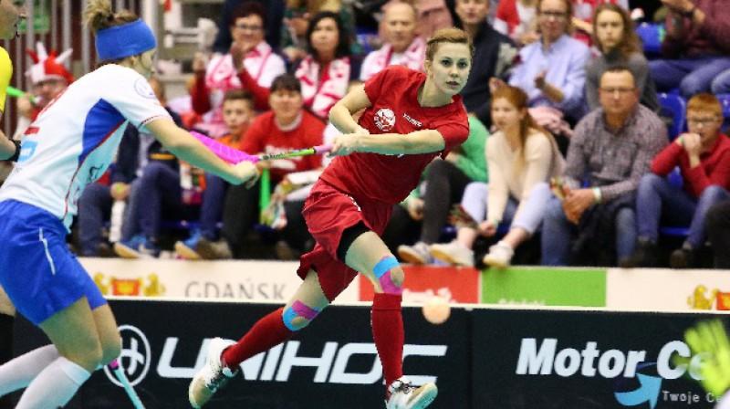 Polijas izlase izpildījusi uzdevumu Foto: IFF Floorball