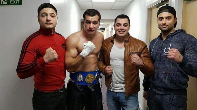 Dzintars Čīča gatavs debijai profesionālajā boksā. Foto: no personīgā arhīva