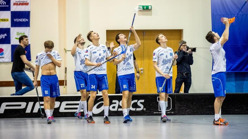 "Cēsu ""Lekrings"". Foto: Raivo Sarelainens, floorball.lv"