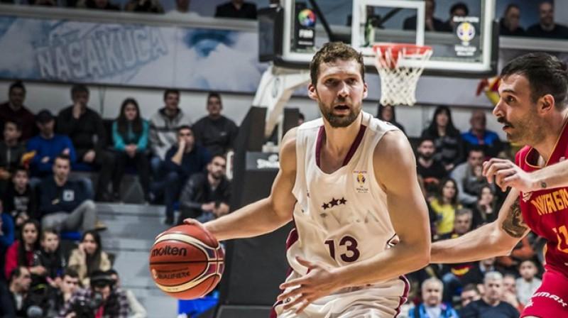 Jānis Strēlnieks. Foto: FIBA