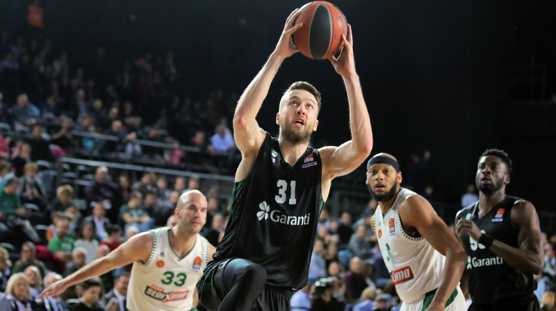 Žanis Peiners. Foto: euroleague.net