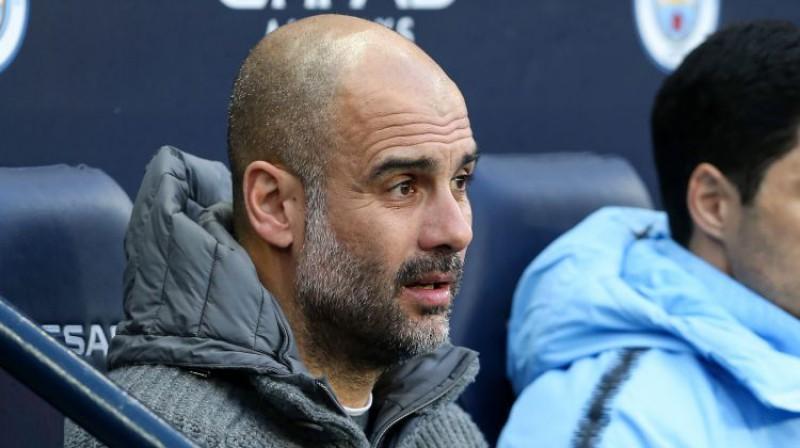 Peps Gvardiola. Foto: Sportimage/PA Images/Scanpix