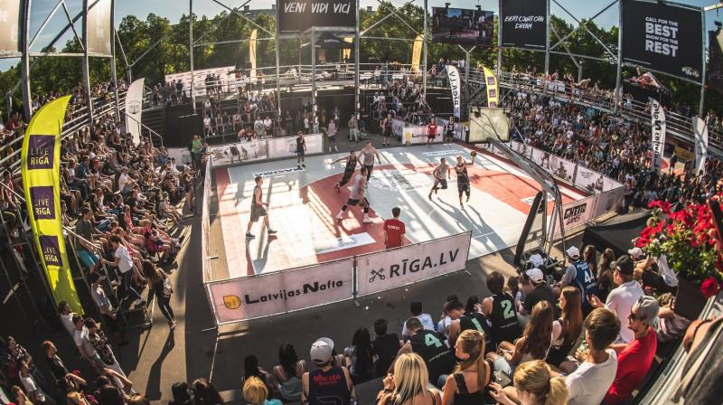 """""""Ghetto Basket"""" desmitās sezonas atklāšana Rīgā, Grīziņkalnā Publicitātes foto"""