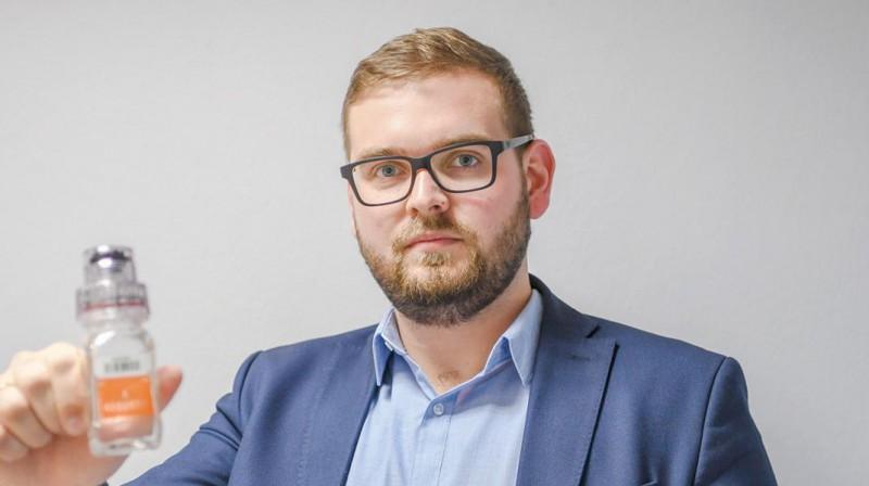 Latvijas Antidopinga biroja vadītājs Mārtiņš Dimants. Foto: sporto.lv