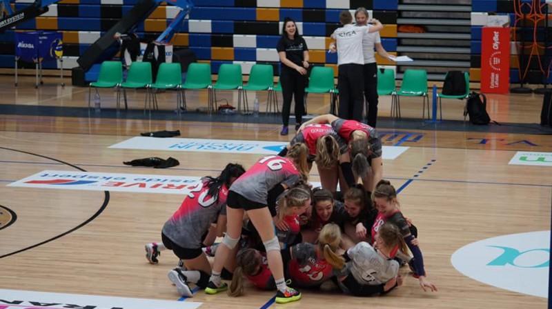 Uzvaras prieks Foto: volley.ee
