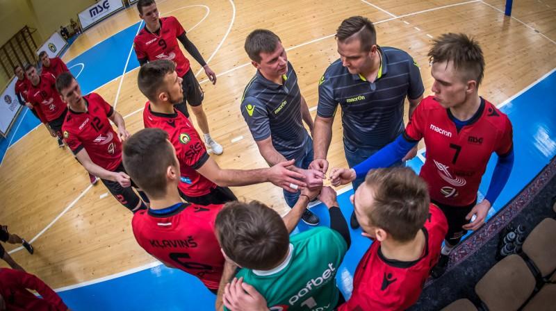 """""""Limbaži/MSĢ"""" volejbolisti. Foto: Limbaži/MSĢ"""