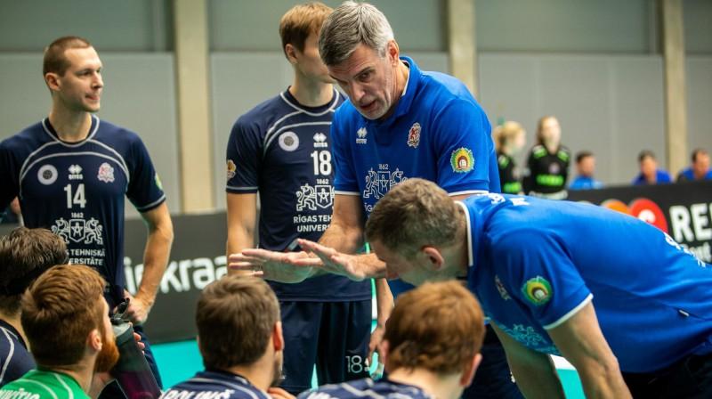 RTU/Robežsardze galvenais treneris Raimonds Vilde. Foto: Gertrud Alatare