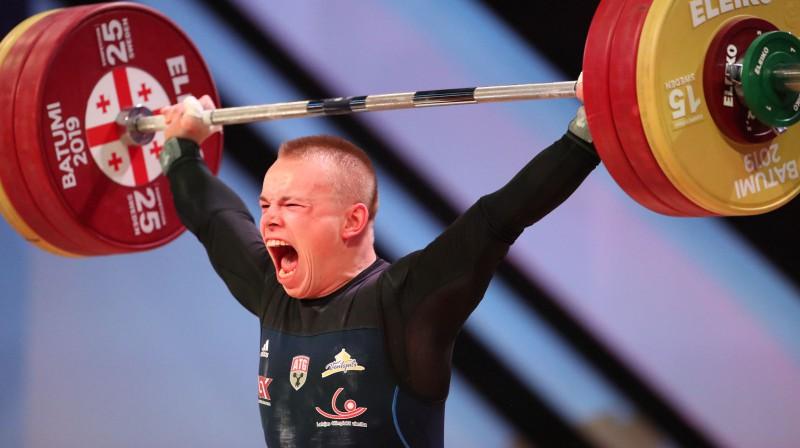 Ritvars Suharevs Eiropas čempionātā. Foto: EPA/Scanpix