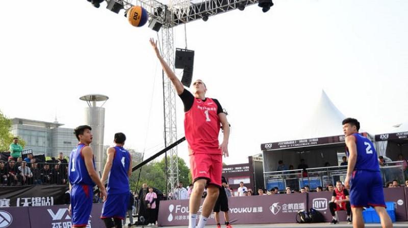 Nauris Miezis. Foto: FIBA