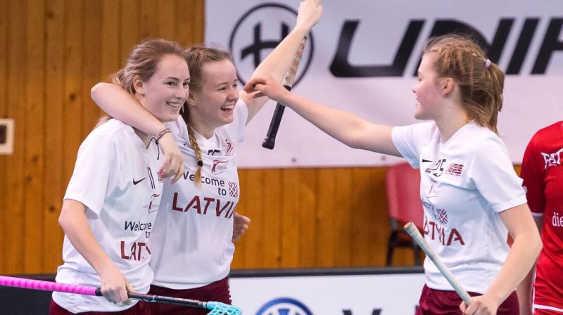 Latvijas junioru izlase. Foto: ČFF