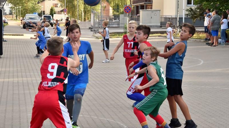 """""""A7 tūres"""" spēle Ķekavas novada sacensību turnīrā. Publicitātes foto"""