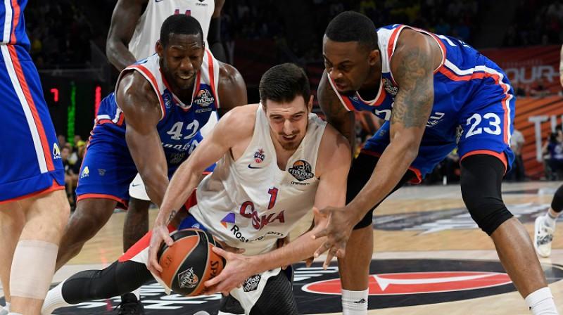 Nando De Kolo un Maskavas CSKA: astotais Eirolīgas tituls kluba vēsturē. Foto: AFP/Scanpix