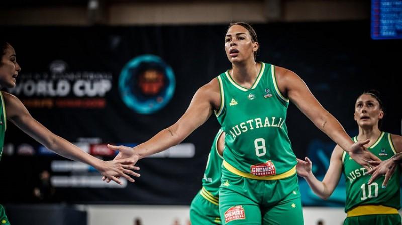 Elizabete Kembedža. Foto: FIBA