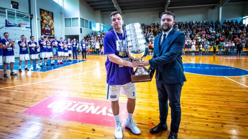 Raimonds Gabrāns un Edgars Bērziņš. Foto: Latvijas Basketbola savienība