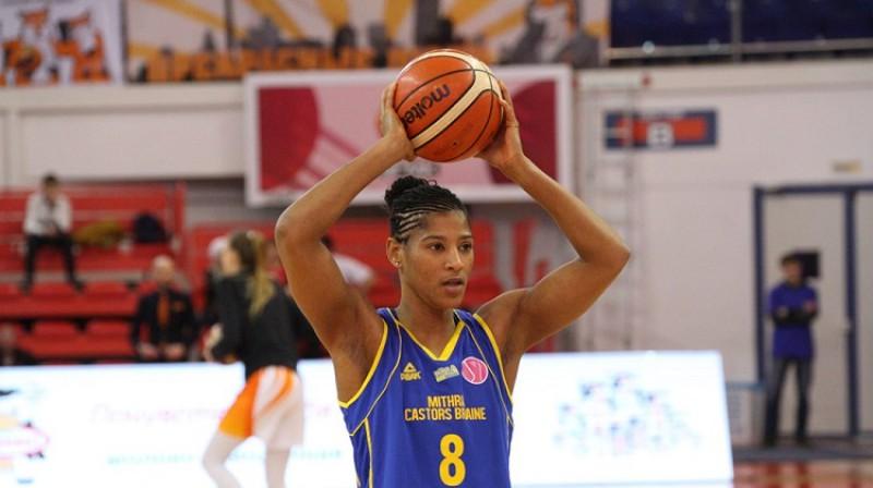 Sileste Trehana-Deivisa Eiropas čempionātā nespēlēs. Foto: FIBA