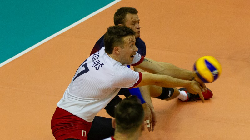 Atvars Ozoliņš un Ingars Ivanovs. Foto: cev.lu