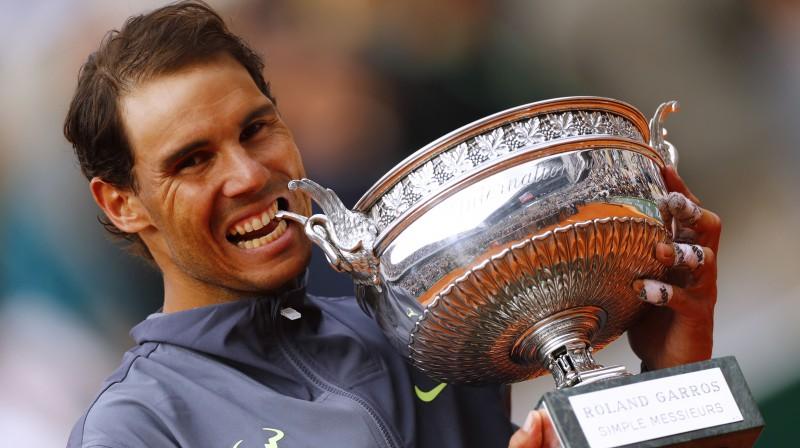 Rafaels Nadals. Foto: Reuters/Scanpix