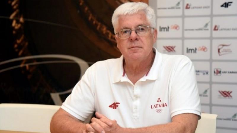 LOK prezidents Aldons Vrubļevskis. Foto: olimpiade.lv