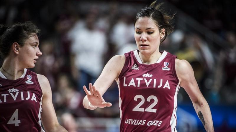 Zenta Meļņika. Foto: FIBA