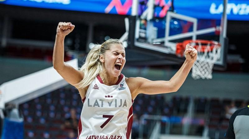 Elīna Babkina. Foto: FIBA