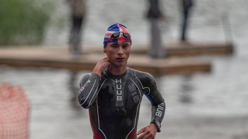 Artjoms Gajevskis. Foto: Latvijas Triatlona federācija