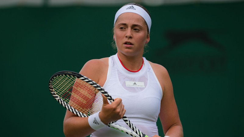 Aļona Ostapenko. Foto: Zuma Press/Scanpix