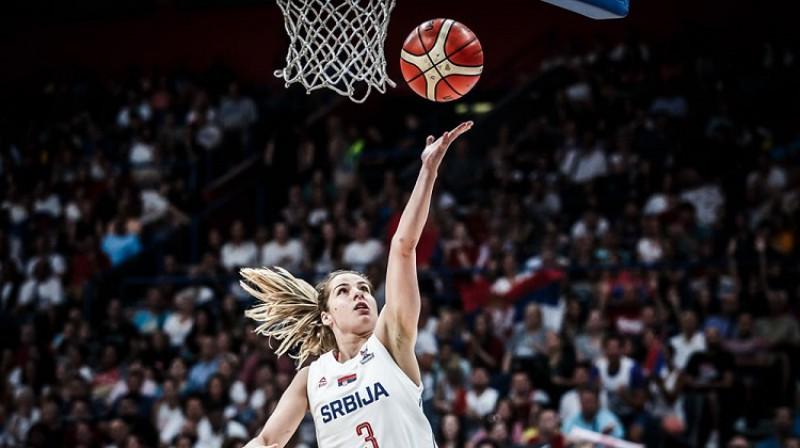 Maja Miļkoviča. Foto: FIBA