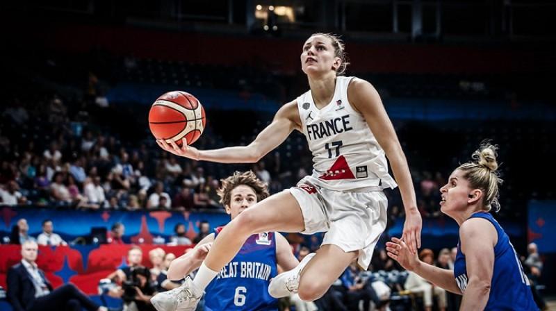 Marina Žohanesa: 20 punkti Eiropas čempionāta pusfinālā. Foto: FIBA