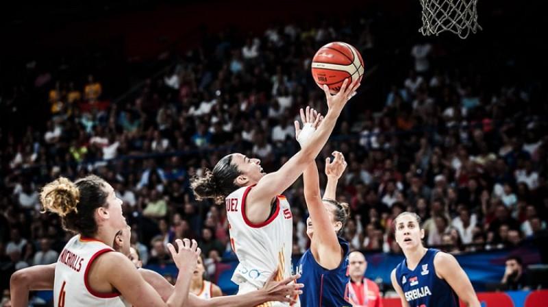 Silvija Domingesa. Foto: FIBA