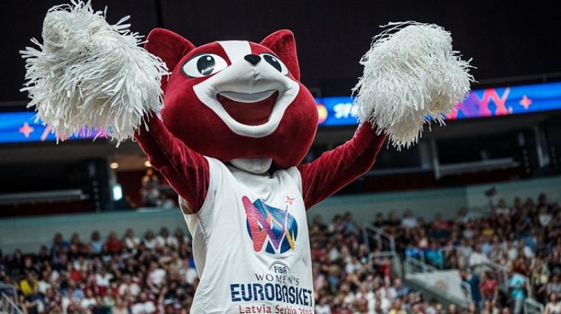Eiropas čempionāta talismans Pika. Foto: FIBA