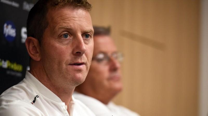"""Dundalk"" galvenais treneris Vinnijs Pērts. Foto: Ciaran Culligan (dundalksport.ie)"