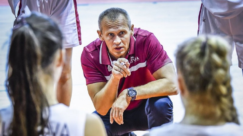 Ainārs Čukste. Foto: FIBA