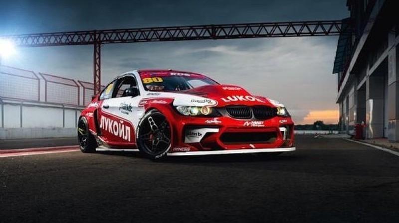 Bluša auto Krievijas drifta čempionātā