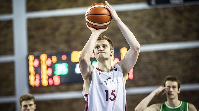 Anrijs Miška. Foto: FIBA