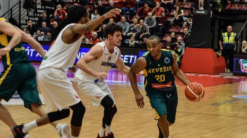 """Lesters Medfords """"Nevežis"""" rindās spēlēja FIBA Eiropas kausā. Foto: FIBA"""
