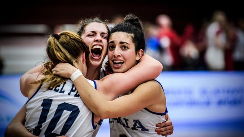 Itālija turnīru sāka ar diviem zaudējumiem, taču turpinājumā izcīnījusi četras uzvaras. Foto: FIBA